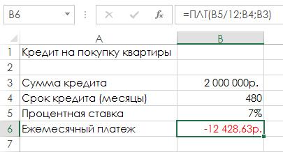Как в Excel использовать средство «Подбор параметра» для выполнения банковских расчетов